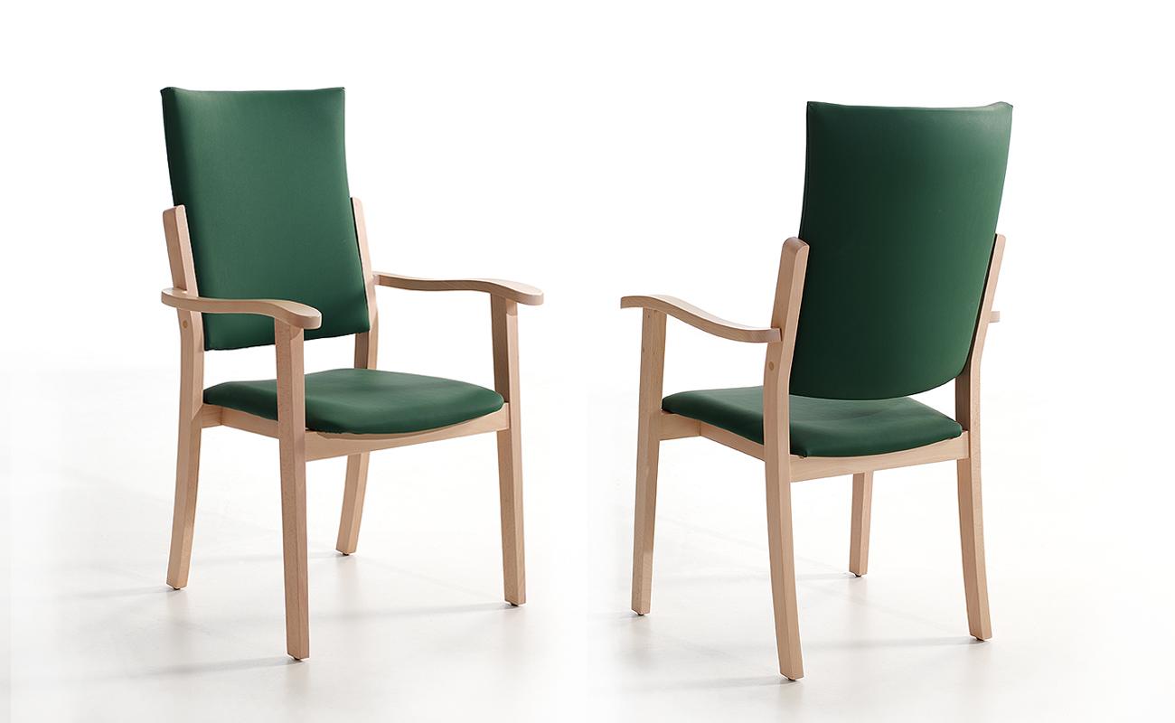 Sill n bora respaldo alto nd mobiliario y equipamiento for Agora mobiliario s l
