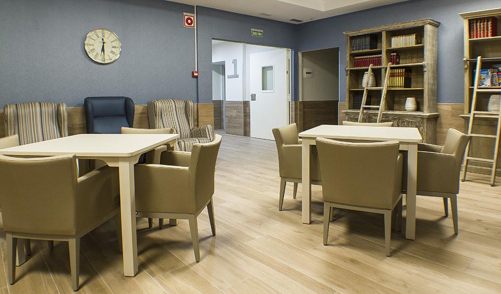 Ambientes Contract De Salas Geriatricas Nd Mobiliario Y