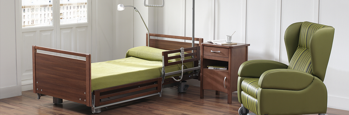 nueva cama altura baja de gama alta nd